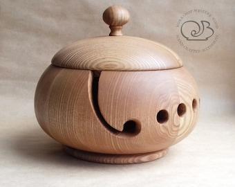 Garnschale Holz holz garnschale garn stricken kugel halter   etsy