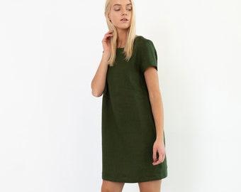 BEATRICE Linen Summer Dress for Women / Handmade Linen Clothing