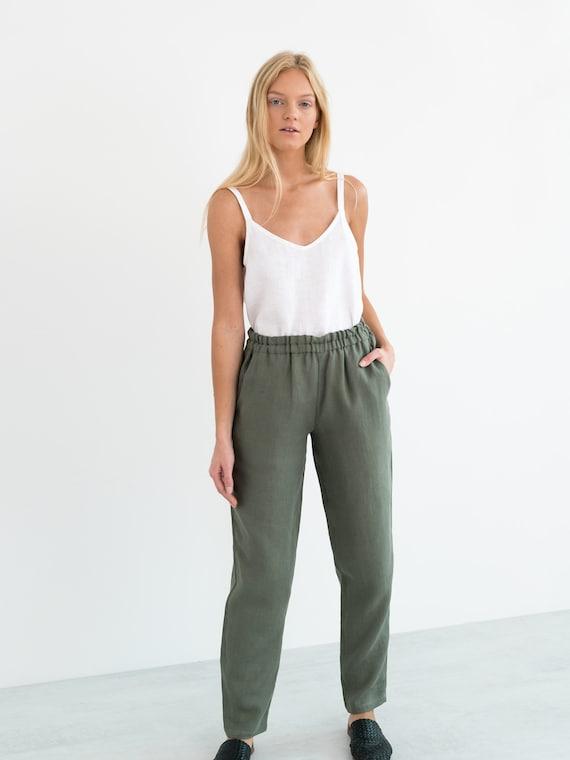 Linen Camisole Top