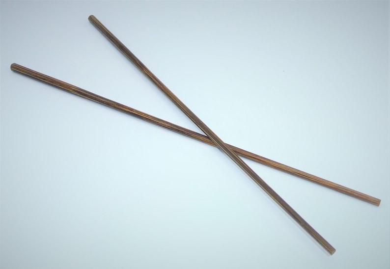 handmade-noble feel reusable 10 pairs of chopsticks 100/% Nature