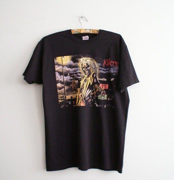 Iron Maiden t-shirt, Iron Maiden Killers T-shirt,