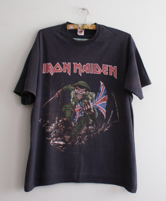 Official Iron Maiden t-shirt, Iron Maiden These Co