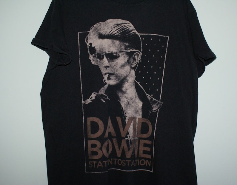 6a44e4acd949dc David Bowie t-shirt David Bowie Station to Station t-shirt | Etsy