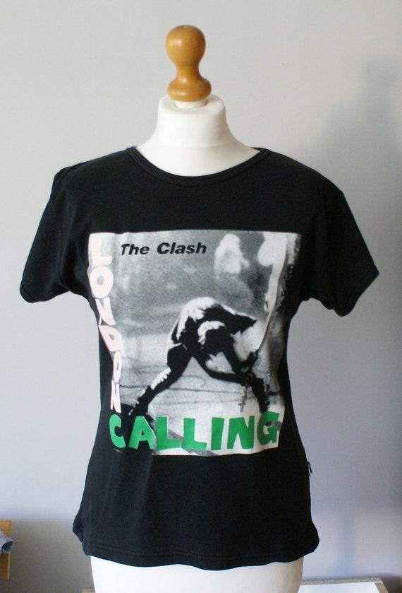 The Clash London Calling Vintage T-shirt, The Clas