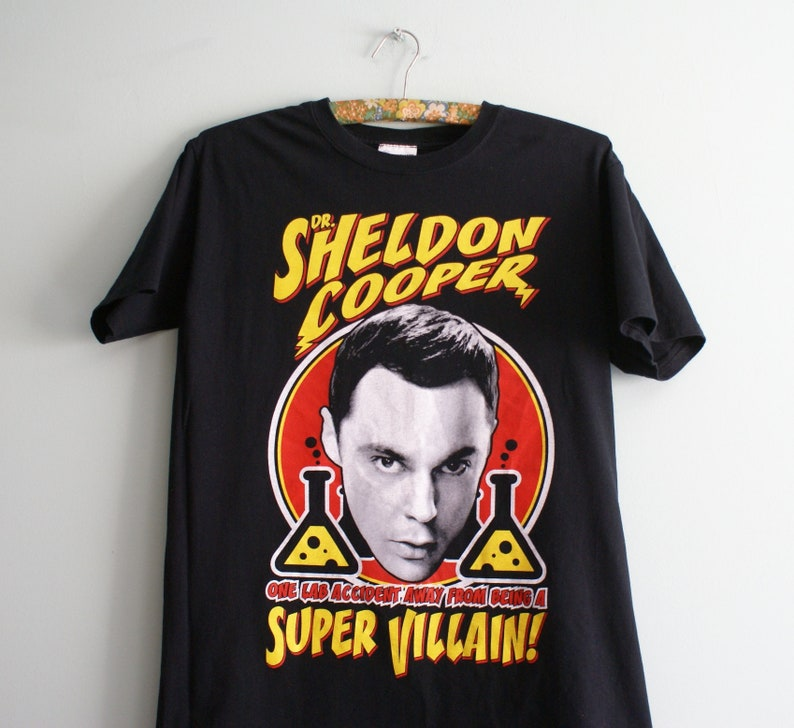 CHOOSE from Official The Big Bang Theory T-shirts Sheldon/'s Tee/'s