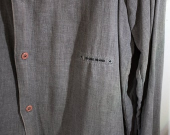 Stone Island Shirt/Overshirt MADE IN ITALY circa 1990s FfJBEpKFUo
