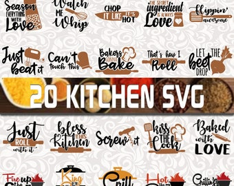Kitchen SVG Bundle - Apron prints svg - Dish towel svg - Cooking SVG - kitchen quote svg - kitchen cut files - Cooking svg
