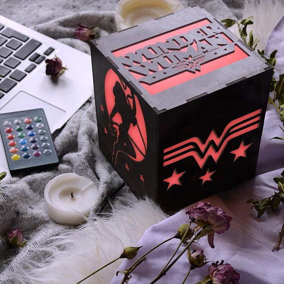 New Wonder Woman Birthday Gift For Busy Working Mom Grown