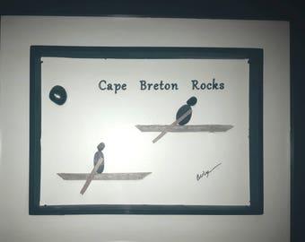 Cape Breton Rocks. Pebble Art