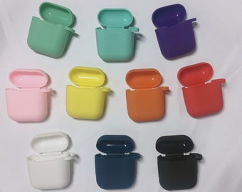 c2e25e017d8 Jelly Silicone Protective Case for Apple AirPods Case | 14 colors |  Protects AirPods from Scratches and Shocks