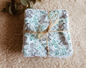 lavable vegetal elephant wipes oeko tex minimaki demaquillant baby care