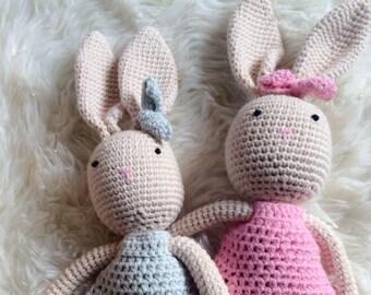 grand lapin crochet