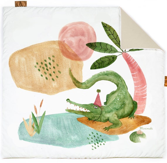 mon tapis croco