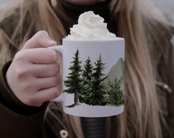 Mug foret minimaki woodland