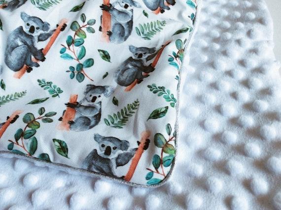 couverture minky koala