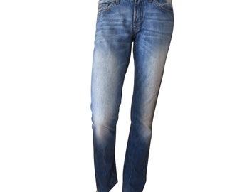 men jeans HUGO BOSMen Pants Arkansas Mid Gabardine 100/% Cotton W 29 L 34 Made in Italy