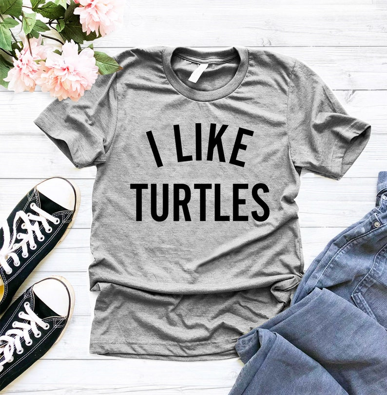 c8684f8e I Like Turtles shirt meme shirt tumblr shirts turtle | Etsy