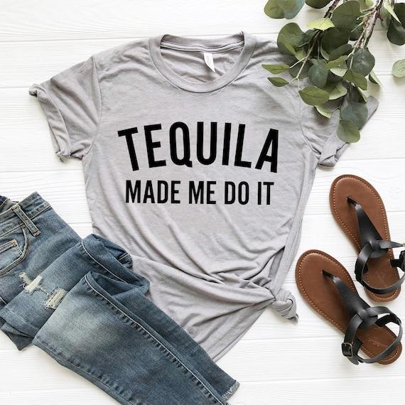 Tequila Tshirt Tequila Shirt Festivals Shirts Festival