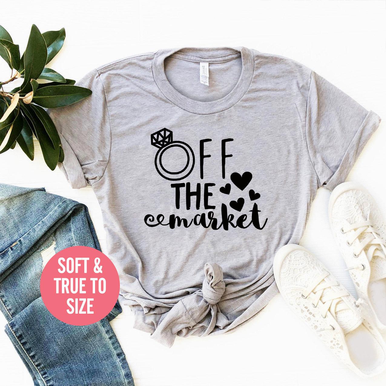 Le T-Shirt de marché, Shirt, prise T Shirt, marché, Womens engagé T ... ffda53161db7