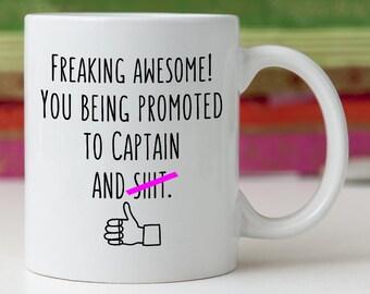 9f91832c8a2c Captain Promotion New Future Funny Gift Idea Mug Awesome Congratulations