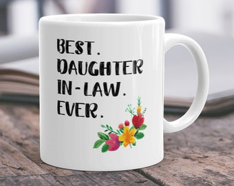 Gift Daughter In Law Mugdaughter In Law Gift Ideawedding Etsy