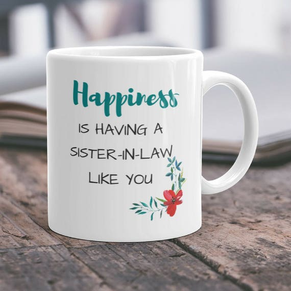 Sister In Law Giftfuture Sister In Lawsister In Law Mugbridal Shower Gift