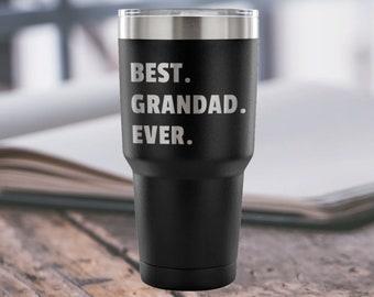 Grandad Gift Granddad Gift Grandad Tumbler Grandad Fathers Day Grandad Present Grandad Birthday Grandad Christmas Best Grandad Ever