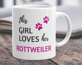 Rottweiler Mug Rottweiler Gift Rottweiler Mom Rottie Gift Rottweiler Owner Rottweiler Lover Rottweiler Fan Rottweiler Coffee Rottie Owner