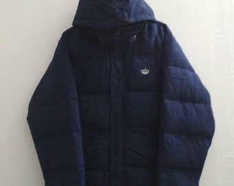 Vintage Adidas Duck Down Feather Jacket