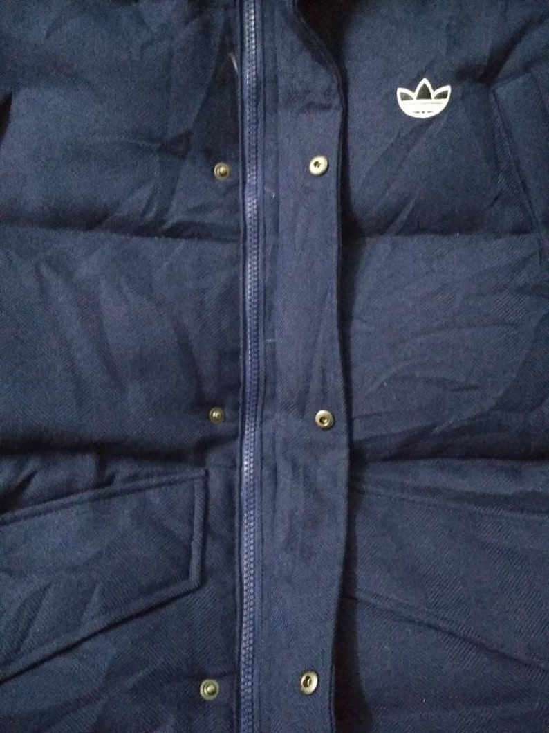 6f5391860 Vintage Adidas Duck Down Feather Jacket