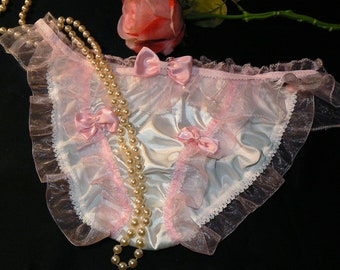 silky satin SISSY fun  Pleasure Panties XXL