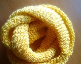 Custom made infinity scarf