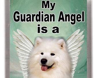 SAMOYED Wanted Poster FRIDGE MAGNET New DOG Funny