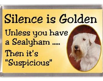 Sealyham Terrier Dog Fridge Magnet