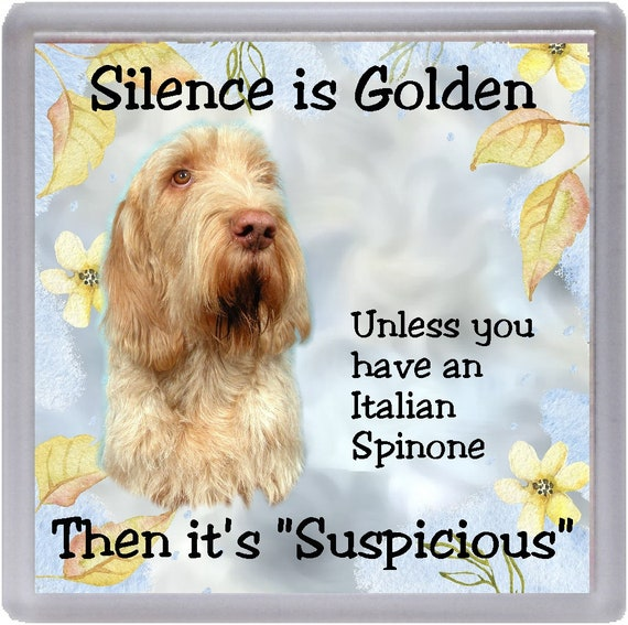 ITALIAN SPINONE Can/'t Have Just One FRIDGE MAGNET Dog