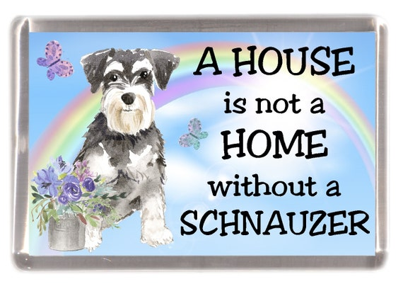 House Is Not A Home Boston Terrier Magnet