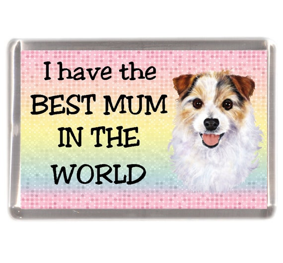 I/'M NOT JUST A DOG PERSON I/'M A JACK RUSSELL MUMMY Fridge Magnet Ideal Gift