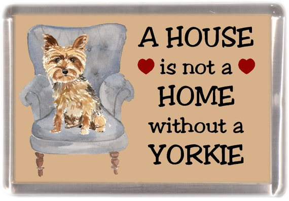 Yorkshire Terrier Dog Notebook//Notepad small image on every page by Starprint