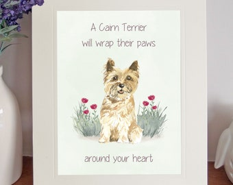 Cairn terrier cards | Etsy