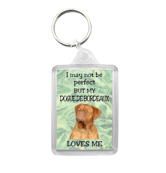 Dogue de Bordeaux Dog Keyring//Bag Charm//Gift