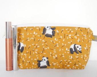 Pencil case Panda, Pencil case Panda, School enrollment, Make-up bag, Bag Panda, Panda, Cosmetic bag