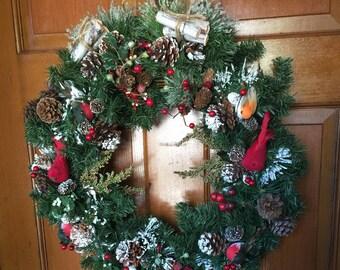 Woodland Christmas Wreath