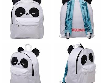 Panda  Kids Rucksack Boys Girls Backpack  School Bag Lunch Bag  - Days Out Birthday Gift