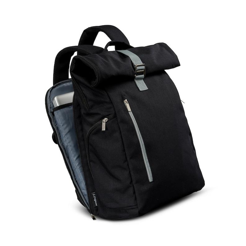 3fb00e0372 Roll top Backpack 2.0 Laptop Backpack 15 Vegan backpack