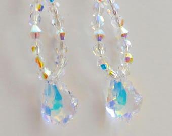 Swarovski Baroque Drop Earrings