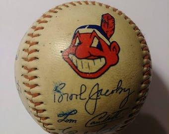 Vintage Cleveland Indians Baseball