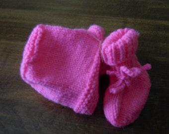 Baby Hat/Booties