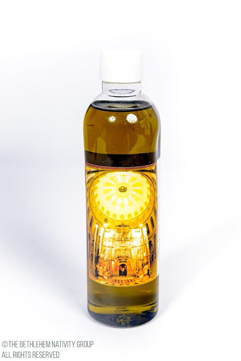Certificated Blessed 250 ML Holy Anointing Oil From Jerusalem The Holy Land