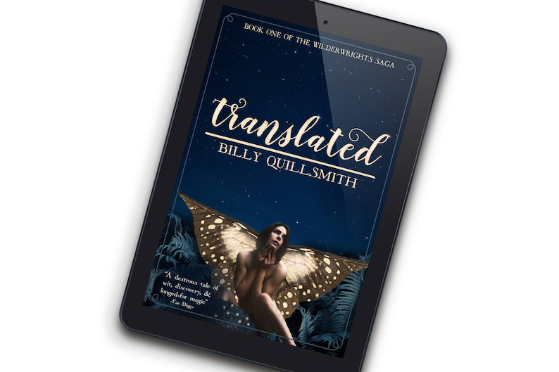 TranslatedSPECIAL EDITION Premade Book Cover for Indie image 0