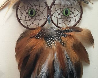 Owl Dreamcatcher Made to Order